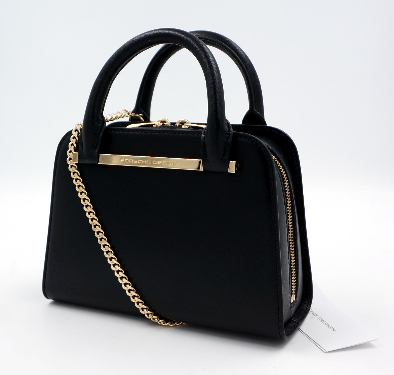 porsche design twinbag mini leder tasche handtasche ehem. Black Bedroom Furniture Sets. Home Design Ideas